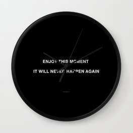 MOMENT Wall Clock