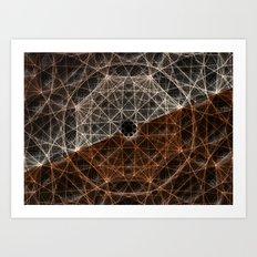 Our Webbed Cognition Art Print