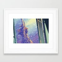 kindle Framed Art Prints featuring Kindle My Heart by Alicia Padron