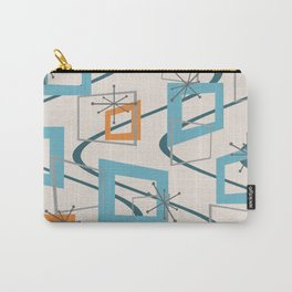 Mid Century Modern Minimalism Carry-All Pouch