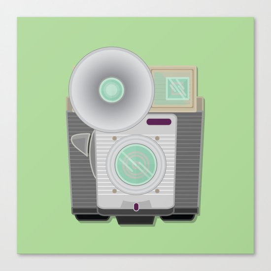 Retro Cam Canvas Print