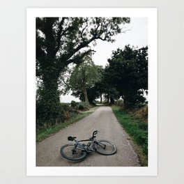 cycling wild Art Print