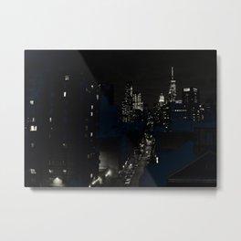 Just Lights Metal Print