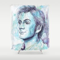 barcelona Shower Curtains featuring Barcelona! by Maria Bruggeman