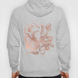Rose Gold Octopus Hoody