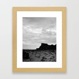 Ruinas B&W Framed Art Print
