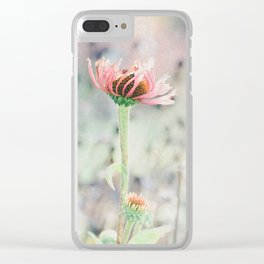 Hanging on to Summer Clear iPhone Case