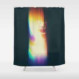 His Mind is Dark and Full of Errors 108 Shower Curtain