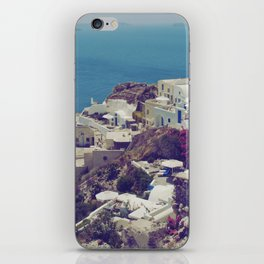 Oia from afar  iPhone Skin