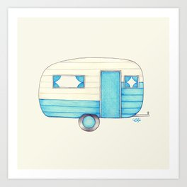 Caravan Palace Art Print