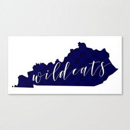 Kentucky Wildcats Canvas Print