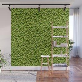 Green Peas Texture No1 Wall Mural