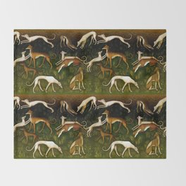 Sighthounds Throw Blanket