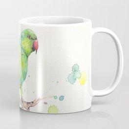 Rose Ringed Parakeet Coffee Mug