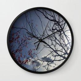As the Seasons Change Wall Clock
