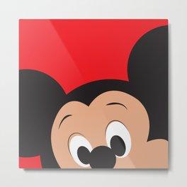 Mickey Mouse No. 3 Metal Print
