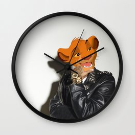 Lion King rocker Wall Clock