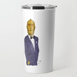 C3PO be classy in RGB Travel Mug