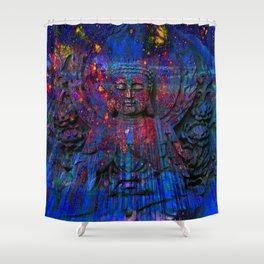 Buddha dream II Shower Curtain