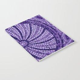 Ultra Violet Stone Tiles 18-3838 Notebook