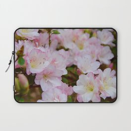 Blooming Azalea Flowers Laptop Sleeve