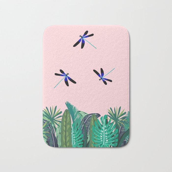 Sunny Day - Dragon-fly Bath Mat