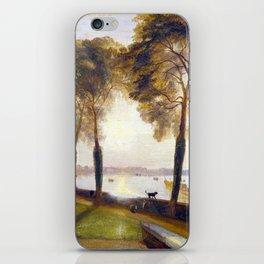 Joseph Mallord William Turner Mortlake Terrace iPhone Skin