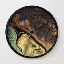Universe of Souls - Panel 3 Wall Clock