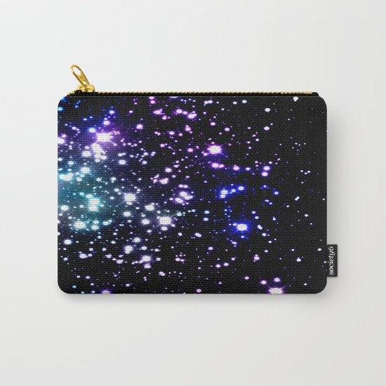 galaXy Aqua Blue Gray Carry-All Pouch