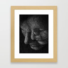In Parallel II Framed Art Print
