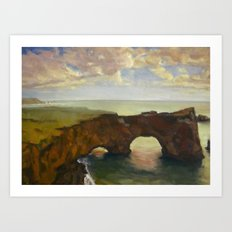 Double Arch Art Print
