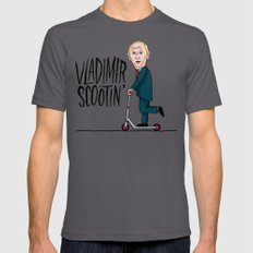 Vlad Scootin Asphalt Mens Fitted Tee LARGE