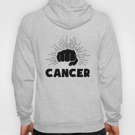 Cancer, just punch it Hoody