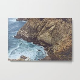 Cliffside Metal Print