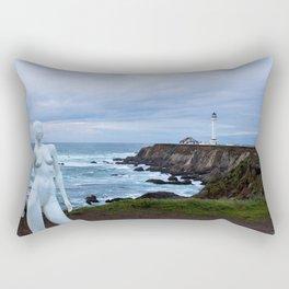 Manufactured Moments IV Rectangular Pillow