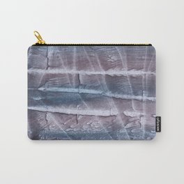 Slate gray blurred abstract Carry-All Pouch