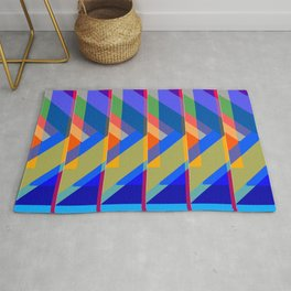 Action Square Rug