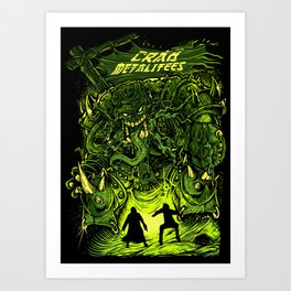 Gigantic Entity Art Print