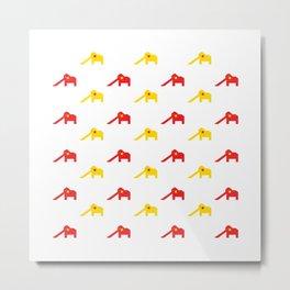 The Elephant Playground - Singapore Series Metal Print