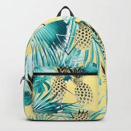 Tropical Pineapple Jungle Geo #1 #tropical #summer #decor #art #society6 Backpack