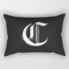 Letter C Rectangular Pillow