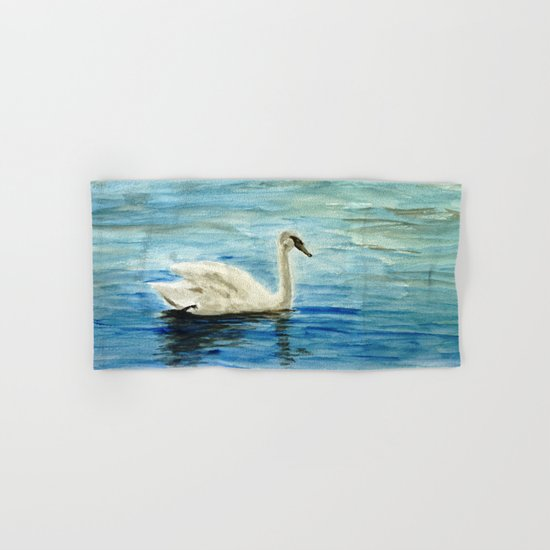 swan Hand & Bath Towel