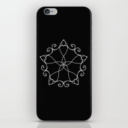 Five Pointed Star Series #3 iPhone Skin