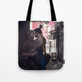 Stealing a moment Tote Bag