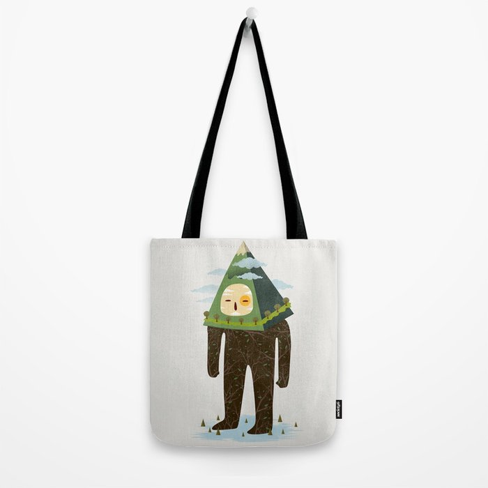 The Man Mountain Tote Bag