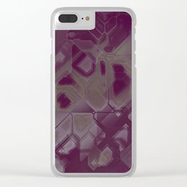 future fantasy necropolis Clear iPhone Case