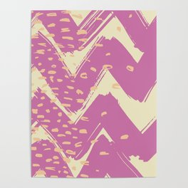Abstract pattern Poster