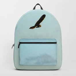Short-Eared Owl At Sunset Backpack