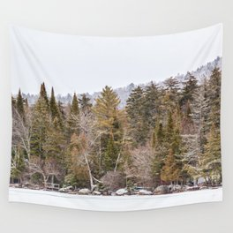 a bit of snow Wall Tapestry