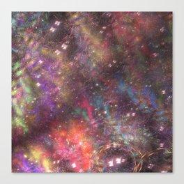 fractal: aurora borealis Canvas Print